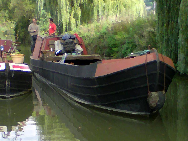 The first Bradford-on-Avon Star Class narrow boat