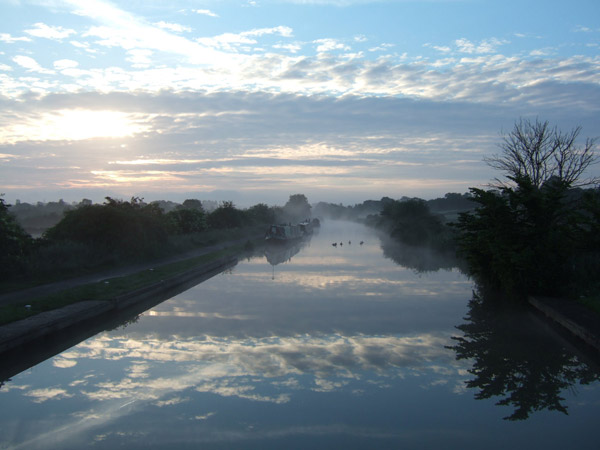 Dawn at Seend, a beautiful photo by the beautiful Lady Lea