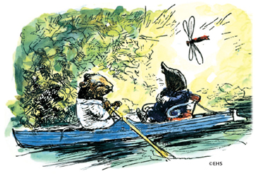 `This has been a wonderful day!' said he, as the Rat shoved off and took to the sculls again.