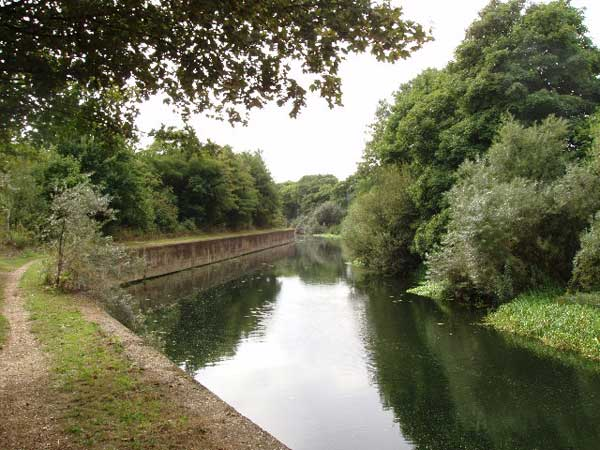 The River Lea in Bow