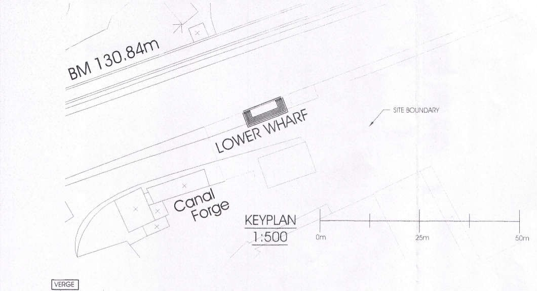 Devizes Canoe Club slipway plan extract