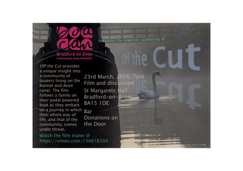 Off the Cut launch flyer 23-03-2016