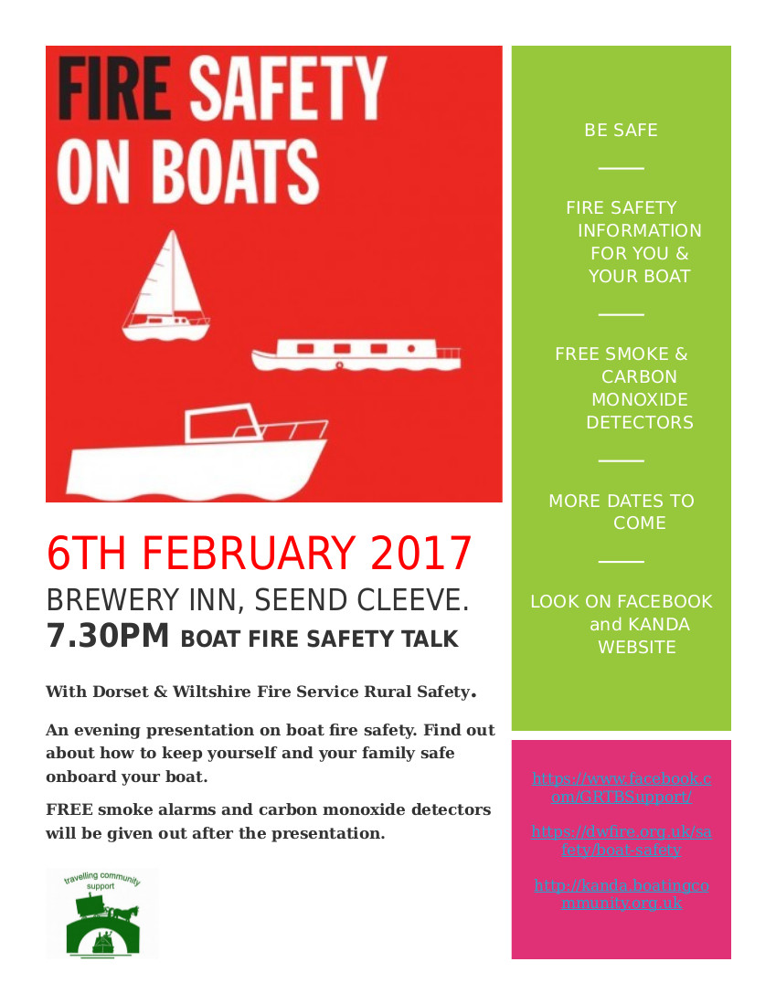 fire safety event poster 6 Feb 17
